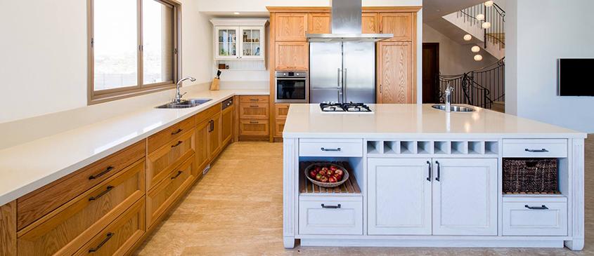 תכנון מטבח מעוצב - בחירת גימור